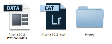 how to move lightroom catalog to external hard drive