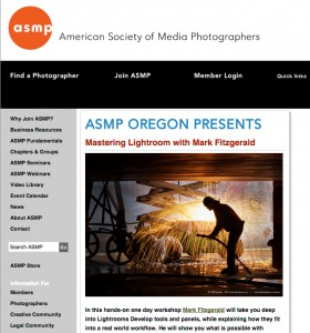 ASMP Workshop with Mark Fitzgerald