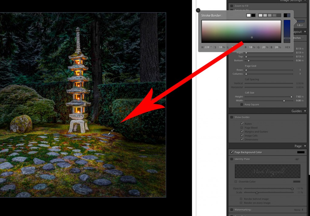 Sampling Custom Colors in Lightroom